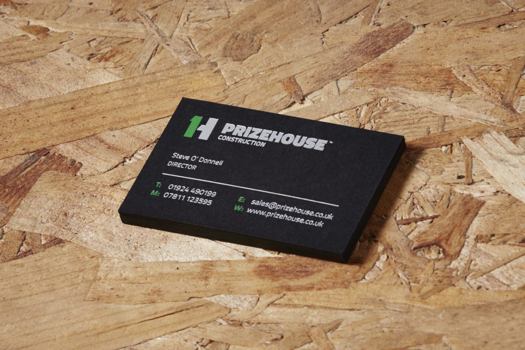 Prizehouse business cards