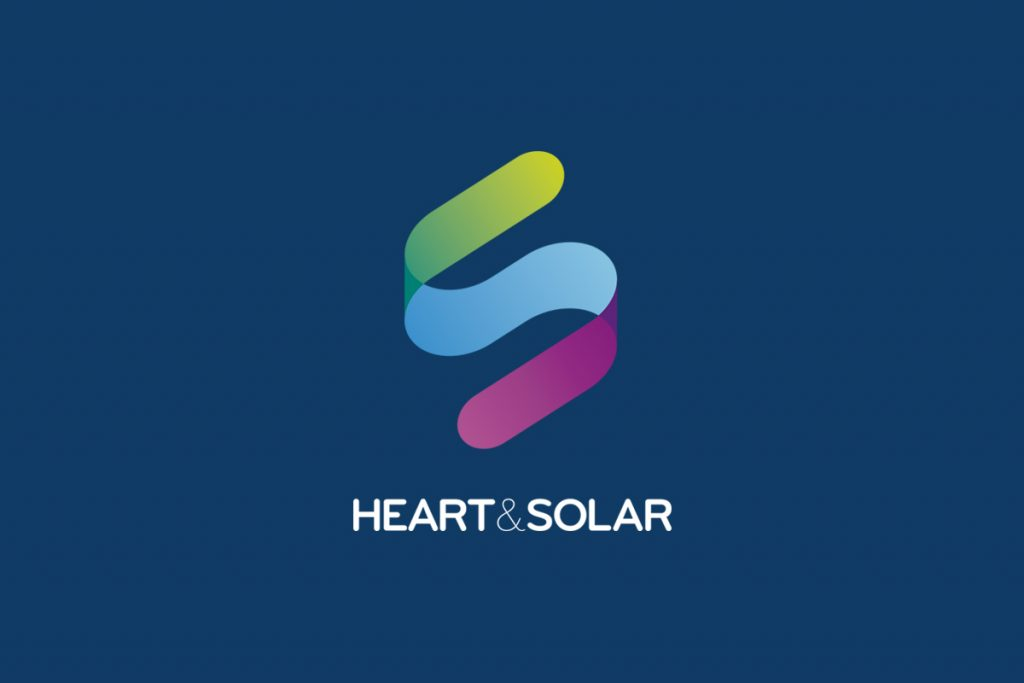 heart & solar logo